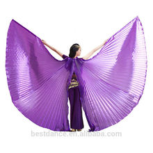 BestDanc hot sale belly dance opening isis wings women belly dancing wings open on the back without sticks OEM