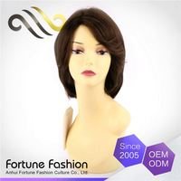 Fashion Style Cost-Effective 100% Virgin 100% Lace Noblest Human Hair Stock Wig