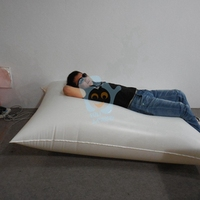 Funny inflatable giant beanbag