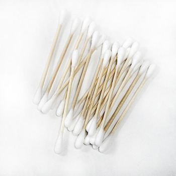 Large Head Eyelashes Cotton Swabs For Make Up
