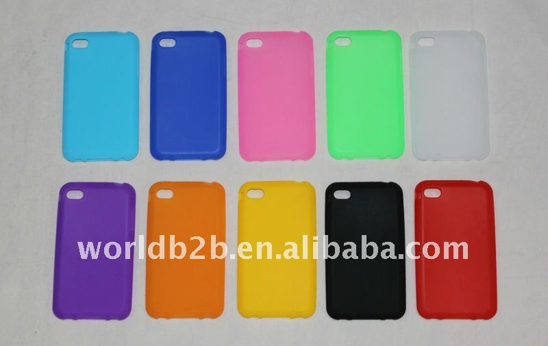 silicone case cover for iphone 4/4s