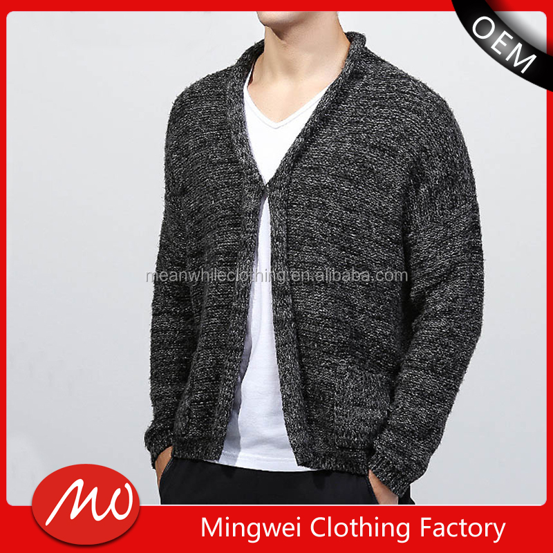 mens simple knit wholesale cashmere sweaters cardigan in china