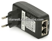 12V POE power adapter with UL,CE,FCC,GS