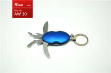 mini military jack pocket knife keychain