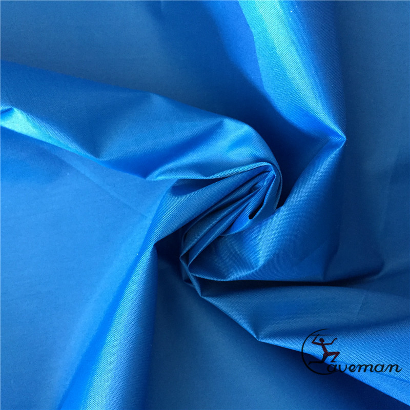 170T Polyester Taffeta 37gsm Dyed Silver Dust Cover Coated Car Cover Fabric