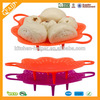 Factory direct sale Silicone Food Vegetable Steamer with 10 years