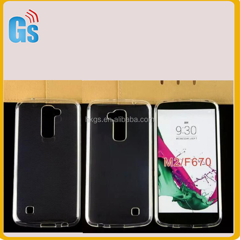 Full Clear Gel TPU Candy Cover Waterproof Case For LG K10 <strong>Q10</strong> M2 F670