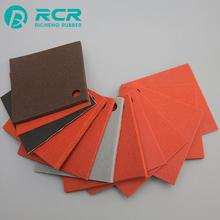 Customized color foam thin silicone rubber sheet for Electric equipment