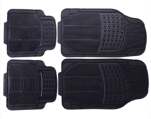 Car Vehicle Rubber Floor Mat - Universal Fit