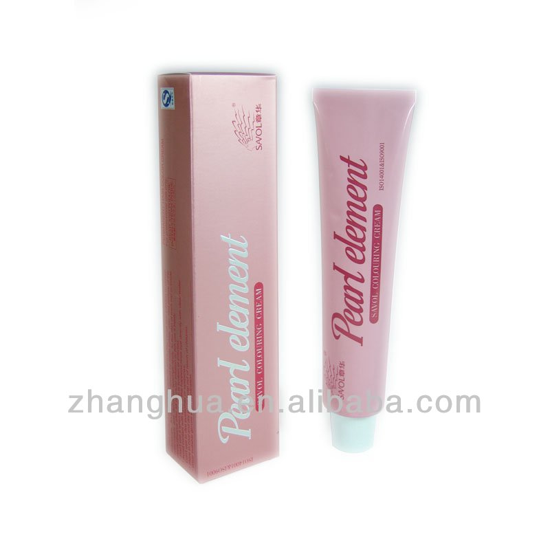 Salon hair dye cream hair tint