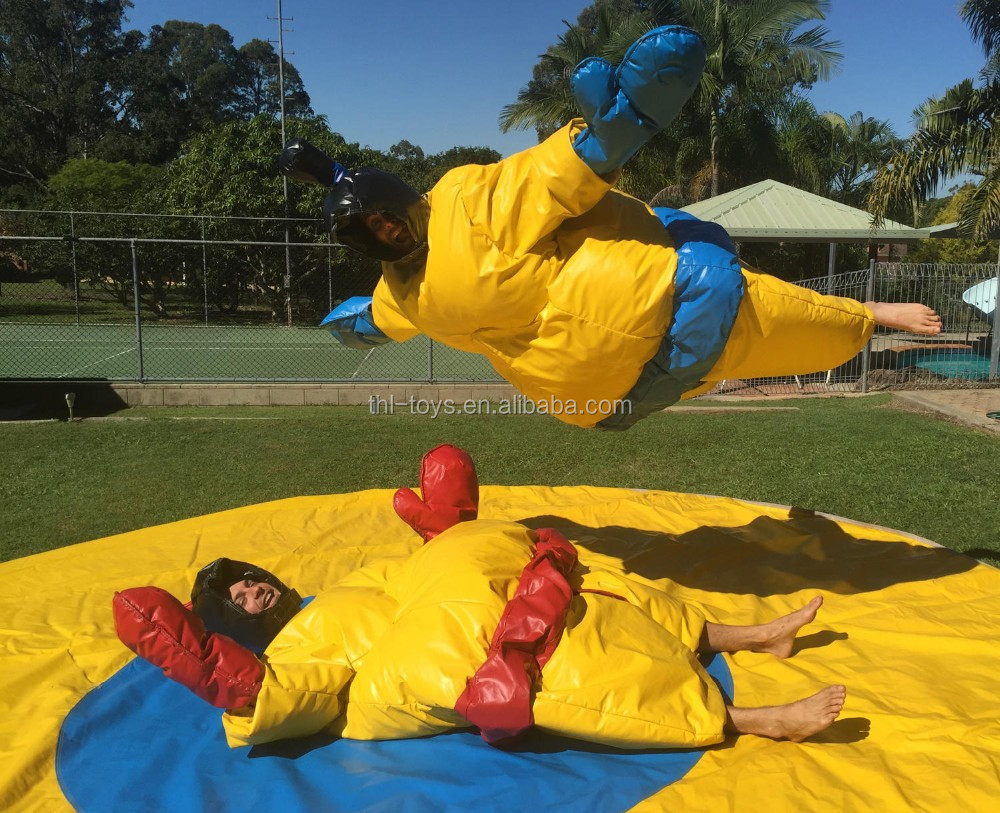 Kids or adults sumo wrestling suits for sale,foam padded sumo suits for fighting