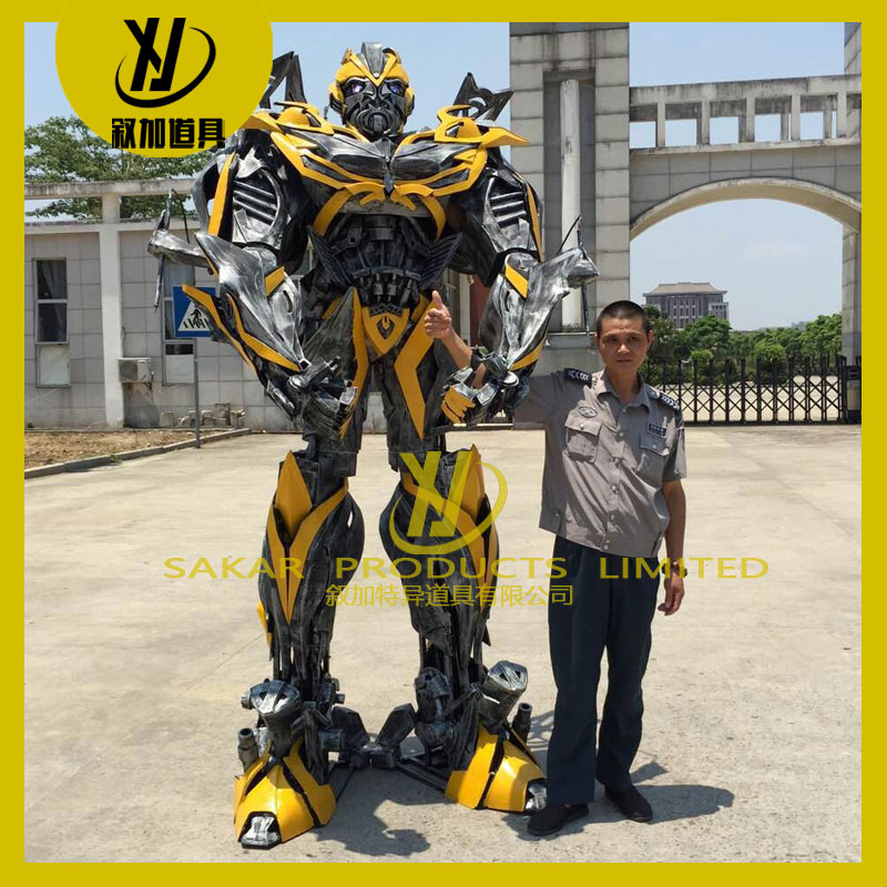 Halloween Cosplay 2.6M Tall Cosplay Bumble bee Costume Robot for Aults