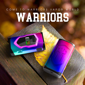 2017 Hot sale products Warriors 230w vape box mod 20700 battery from laisimo