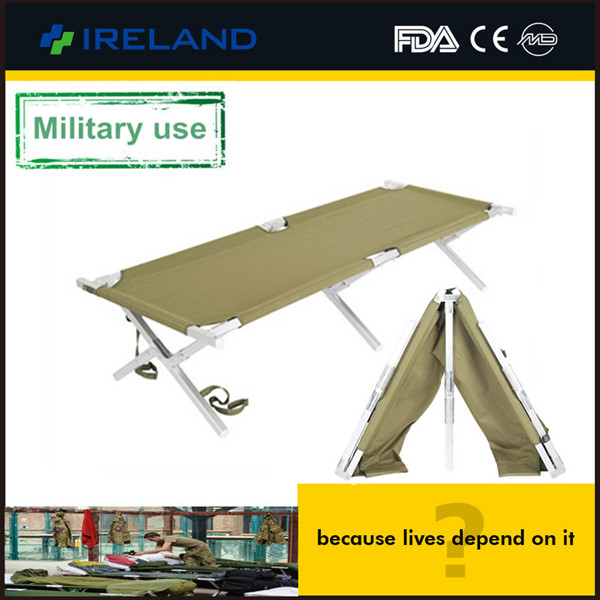 AEN-ST099 Promotion outdoor portable single military folding aluminum arm stretcher