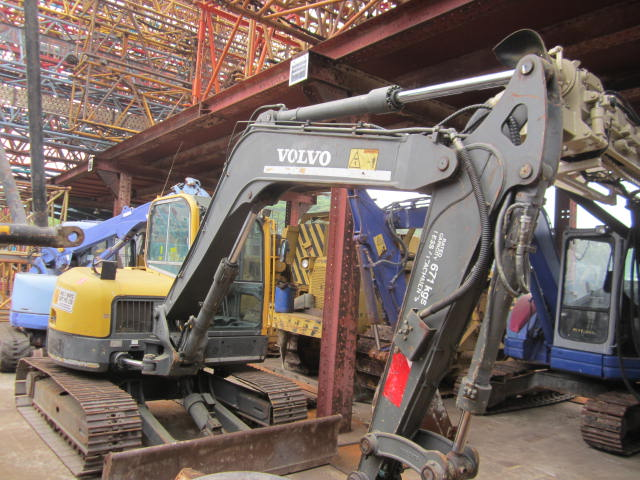 USED VOLVO ECR88 excavator for sale