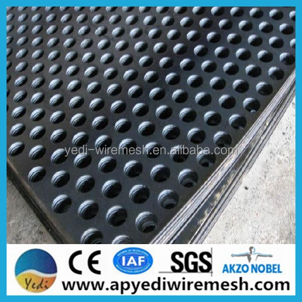 Professional factory perforated metal sheet mesh round holes