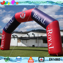 customized start n finish line inflatable arch for advertising