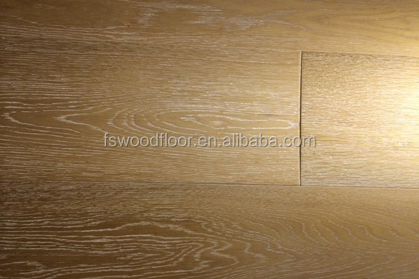 hand-scraped european oak white grain engineered wide plank floors