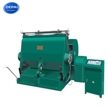 Small manual carton box die cutting machine machine with low prices