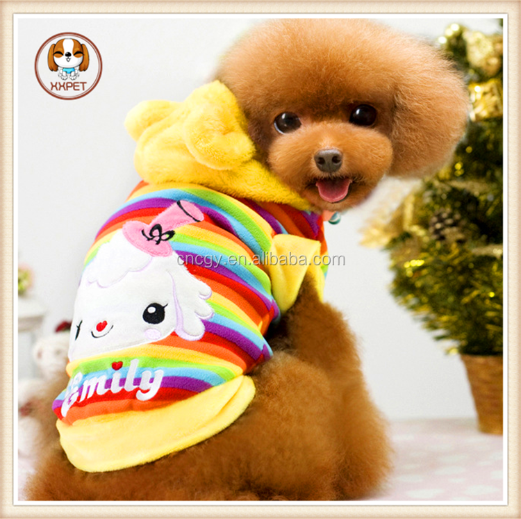 Heated pet clothes couture dog clothes sheep pattern cute