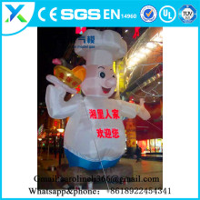 Superior Oxford factory direct wholesale inflatable model cooker people for catering promotion