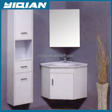 Bathroom wall hanging furniture vanity Hangzhou corner Pure White bedroom cabinet