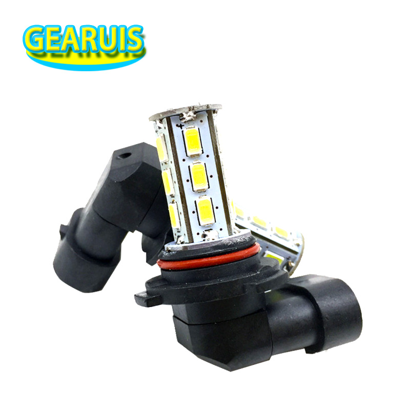 White H8 H9 H10 H11 HB3 9005 HB4 9006 18 SMD 5630 LED Fog lights lamp Head light 18SMD 5730 White Car Auto Lens Fog lamp