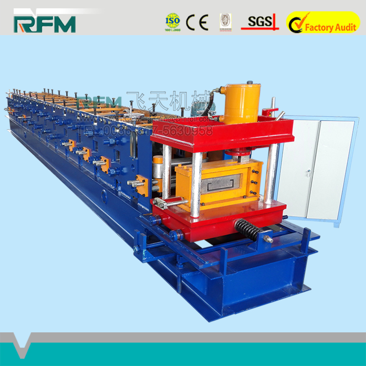 Metal Roof Tile Colored Iron C/Z Type Channel Steel Purlin Used Frame Machine For Sale