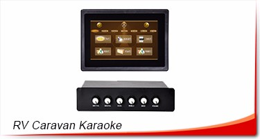 Kids singing music karaoke box for children learning songs