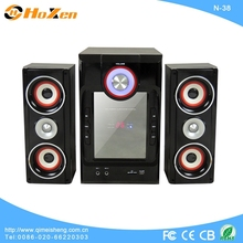 fashion design high quality 2.1 home theater system surround sound high power N-11 with fm radio,mp3,usb/sd
