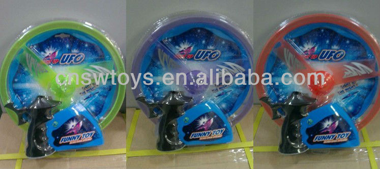 flying saucer / frisbee / flying disk Toy UFO with light,Boomerang disk,Plastic Flashing high flying disk toys