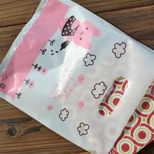 Shopping carrier envelopes hdpe plastic bag with handle