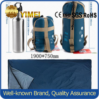 camping 2 person double wide sleeping bag with pillows