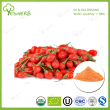 Bulk supply chinese wolfberry fruit extract powder