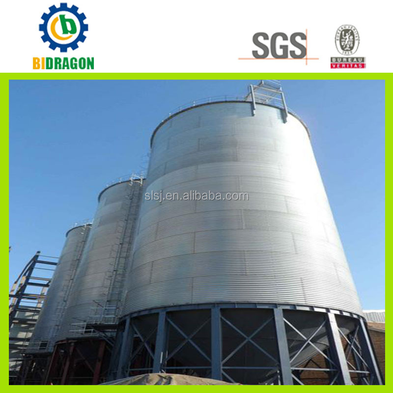 Cement Silo Structure Usage in Cement Storage Plant