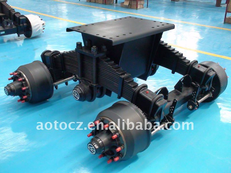 trailer Super-25,30 bogie axle suspension assembly