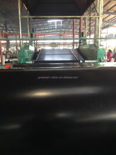 Strong acid and alkal resistance rubber sheet roll Hypalon rubber sheeting black color