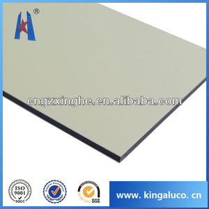 Soffit aluminum honeycomb panel