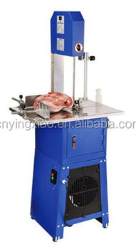 Meat butcher band bone saw machine