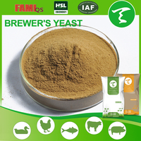 GMO free animal feed additive 40%&45% brewer/brewer's/beer instant yeast