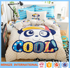 Hand embroidery design bed sheet 100% cotton bedding set