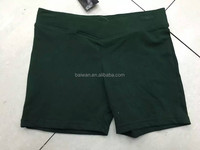 Clothing liquidation girls high quality new design for girl yoga shorts