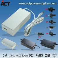CE SAA approved Desktop 15V 3A 45w power adapter ACT-150030