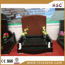 Polished granite tombstone slabs with cheap price