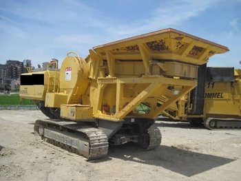 Mobile Jaw Crusher Komatsu BR210 JG - 1 From Japan <SOLD OUT>