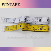 150cm/60inch plastic line tailoring products ruler promotional gift fiberglass textile tape measure with Your Logo
