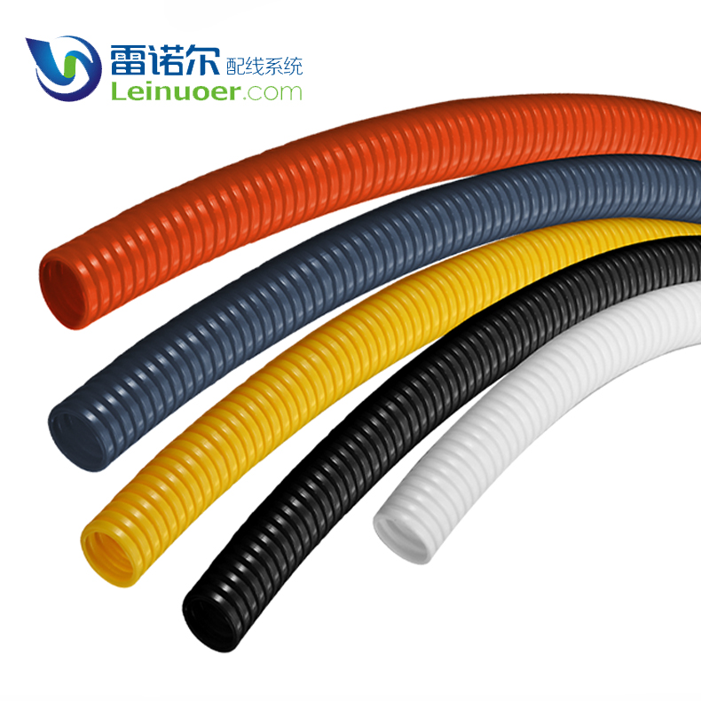 China factory multi-color corrugated plastic conduit for electrical wire