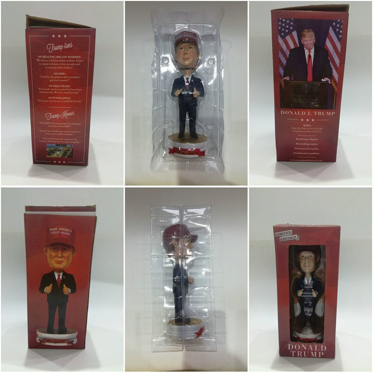 Resin Donald Trump Bobbled Head