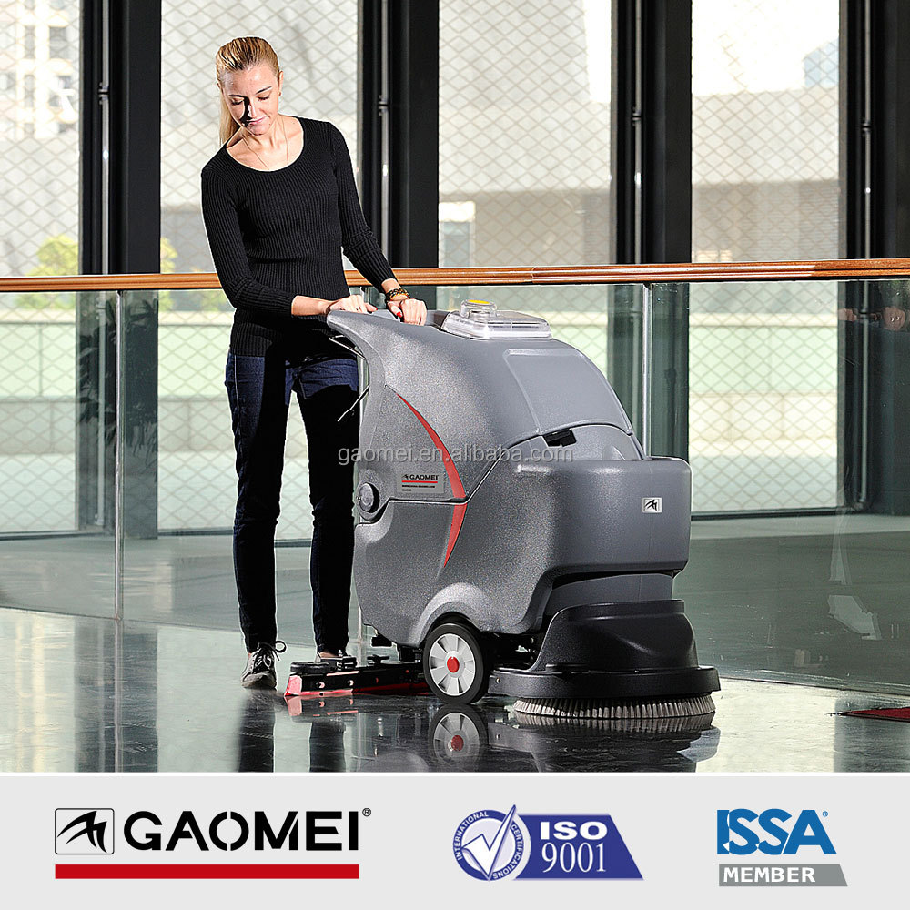 GM50B Battery Powered Small Auto Cleaning Floor Sweeper