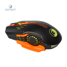 Gonson high quality wired mini gaming mouse for gamer from China factory
